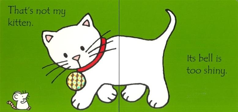 That's Not My Kitten (Touch & Feel) by Fiona Watt image