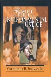 Promise and Peril of Environmental Justice by Christopher H. Foreman image