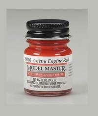 Model Makers: Lacquer Paint - Engine Red - Chevy (Gloss)