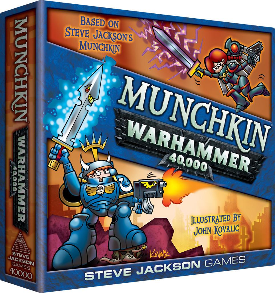 Munchkin - Warhammer 40,000 Edition image