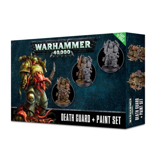 Citadel: Death Guard + Paint Set