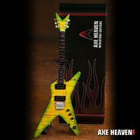 Axe Heaven: Miniature Replica - Dean Dimebag Guitar (Slime Dime)