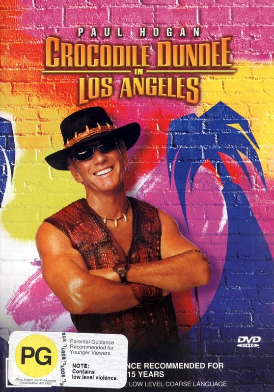 Crocodile Dundee in Los Angeles on DVD