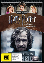 Harry Potter and the Prisoner of Azkaban - 1 Disc (New Packaging) on DVD
