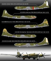 """Academy USAAF B-29 """"Old Battler"""" 1/72 Model Kit image"""
