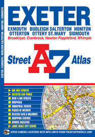 Exeter Street Atlas by Geographers A-Z Map Company