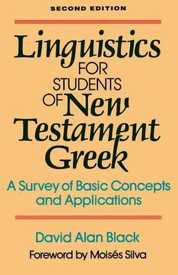 Linguistics for Students of New Testament Greek by David Alan Black image