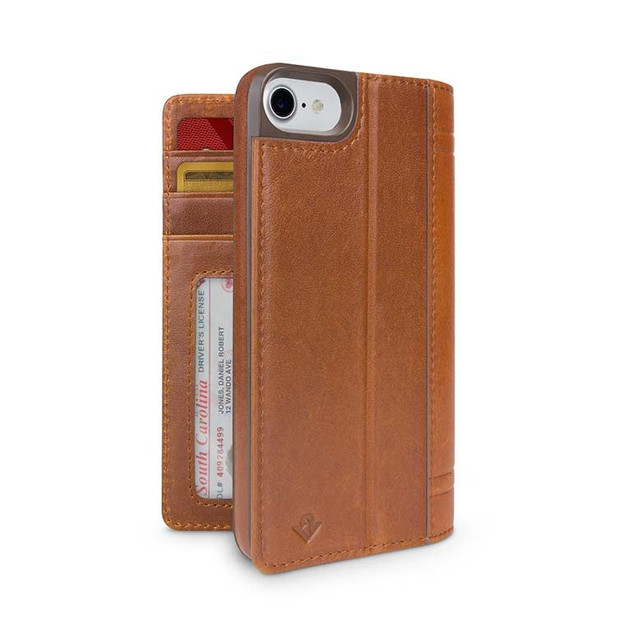 Twelve South Journal for iPhone 7/6/6S (Cognac)