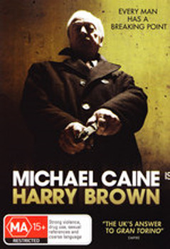 Harry Brown on DVD image