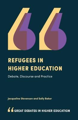 Refugees in Higher Education by Jacqueline Stevenson image