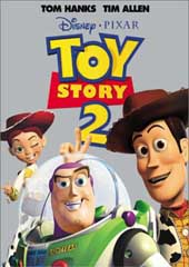 Toy Story 2 on DVD