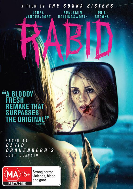 Rabid on DVD
