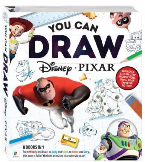 You Can Draw Disney Pixar