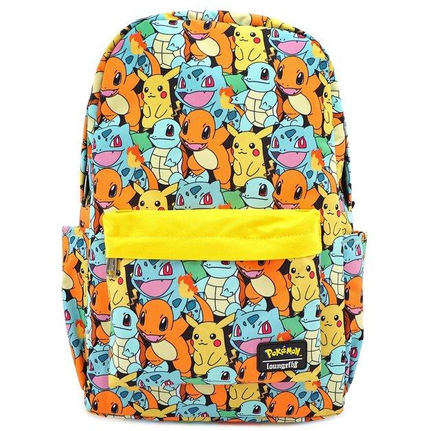 Loungefly: Pokemon - Starters Backpack