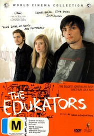 The Edukators on DVD image