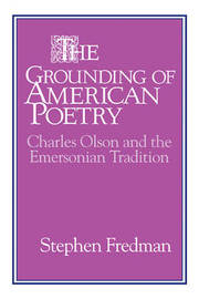 The Grounding of American Poetry by Stephen Fredman image