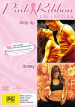 Step Up / Honey - Pink Ribbon Collection (2 Disc Set) on DVD