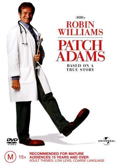 Patch Adams on DVD