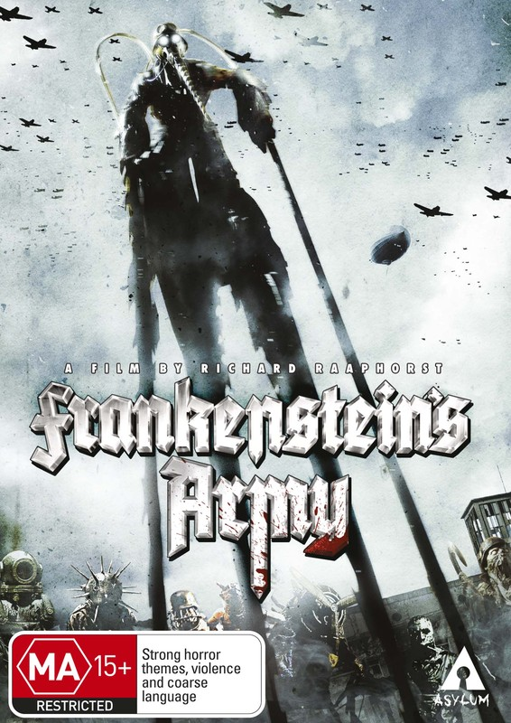 Frankenstein's Army on DVD