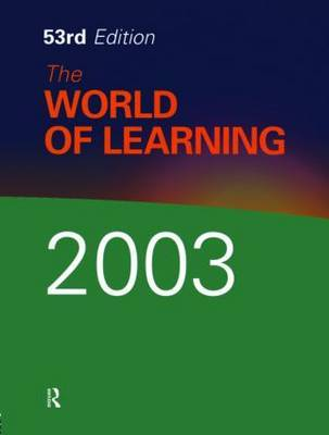 The World of Learning by Eur