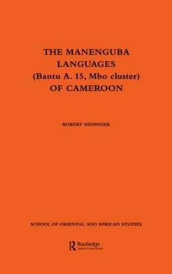 The Manenguba Languages of Cameroon by Robert Hedinger image