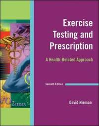 Exercise Testing & Prescription by David C Nieman image