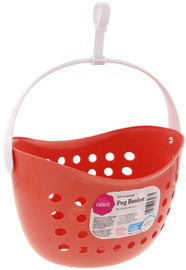 Nove Peg Basket - Peach