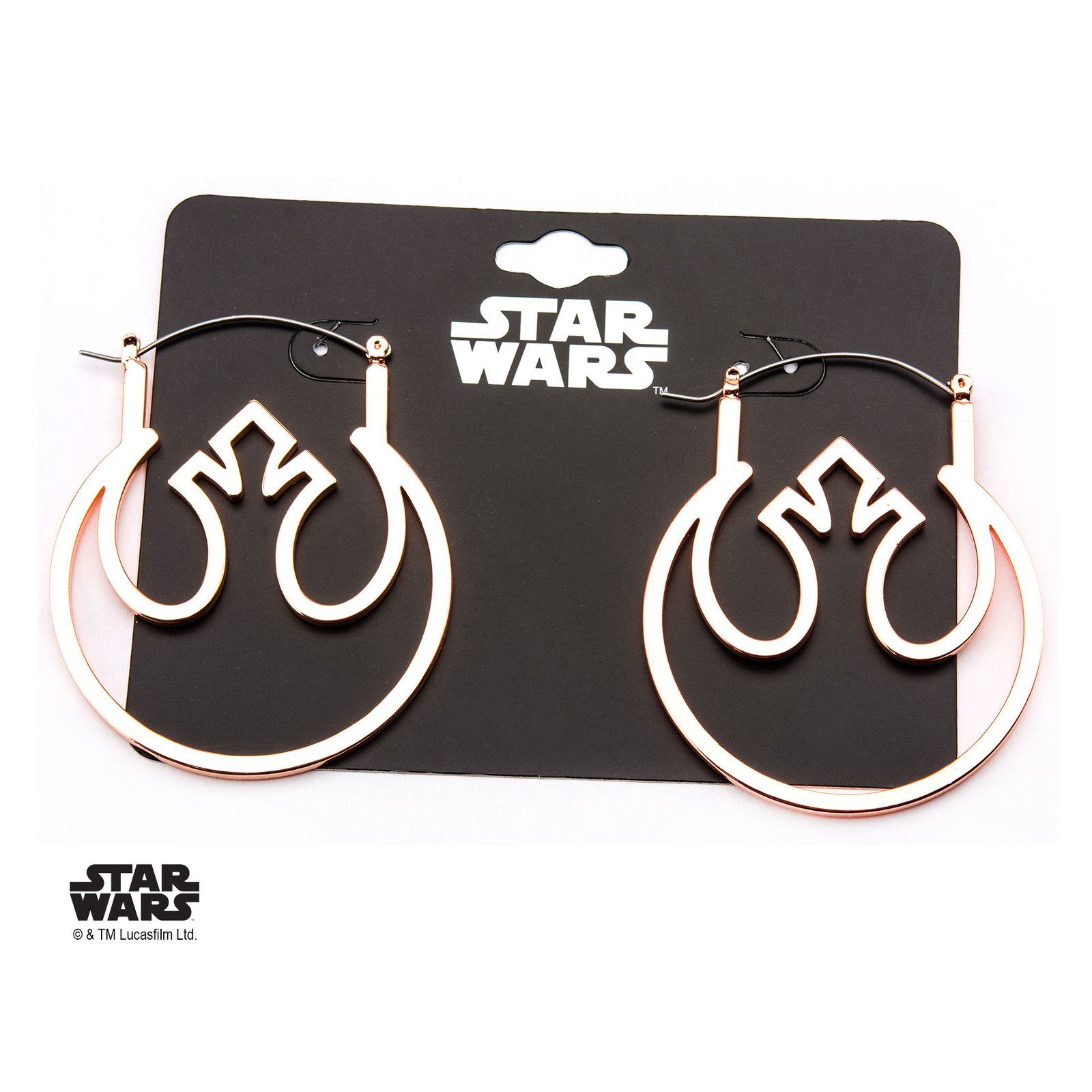 Star Wars: Rebel Symbol - Hoop Earrings image