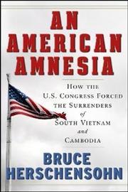 An American Amnesia by Bruce Herschensohn image