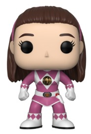 Power Rangers - Pink Ranger (Unmasked) Pop! Vinyl Figure
