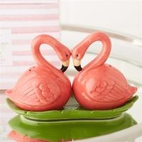 Two's Company Flamingo Salt & Pepper Shaker