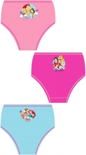 Disney: Princess Girls Briefs 3pp - 3-4