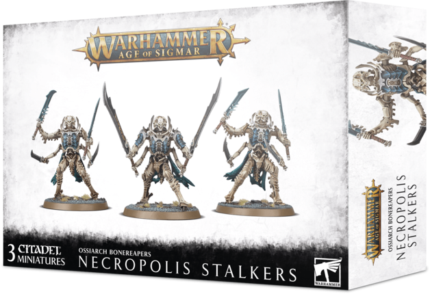 Warhammer Age of Sigmar: Ossiarch Bonereapers Necropolis Stalkers