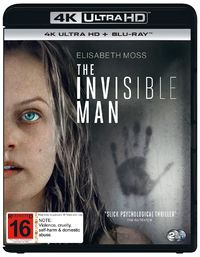The Invisible Man on UHD Blu-ray image
