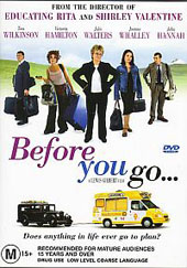 Before You Go on DVD