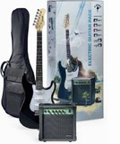 Stagg S250 Electric Guitar & Amp Pack (Black)