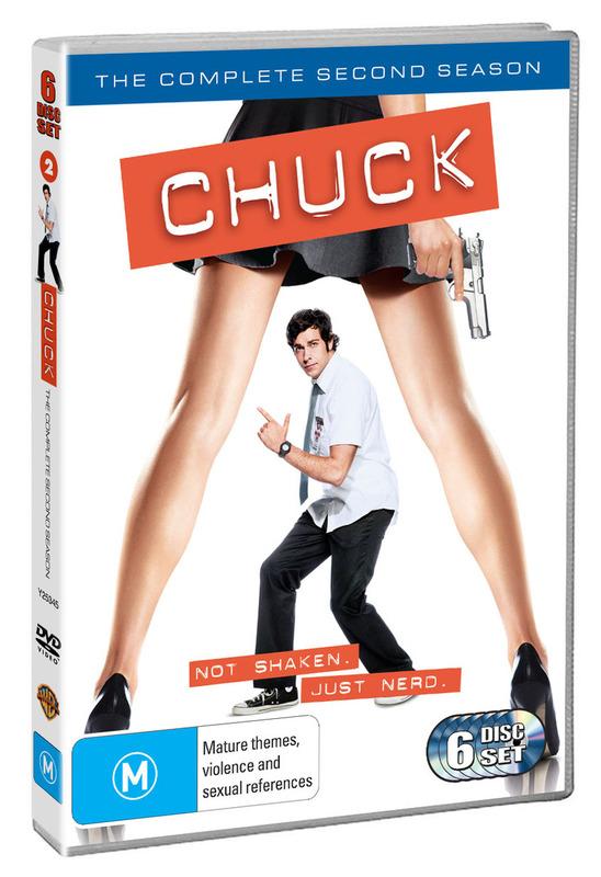 Chuck - The Complete 2nd Season (6 Disc Set) DVD