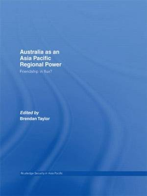 Australia as an Asia Pacific Regional Power