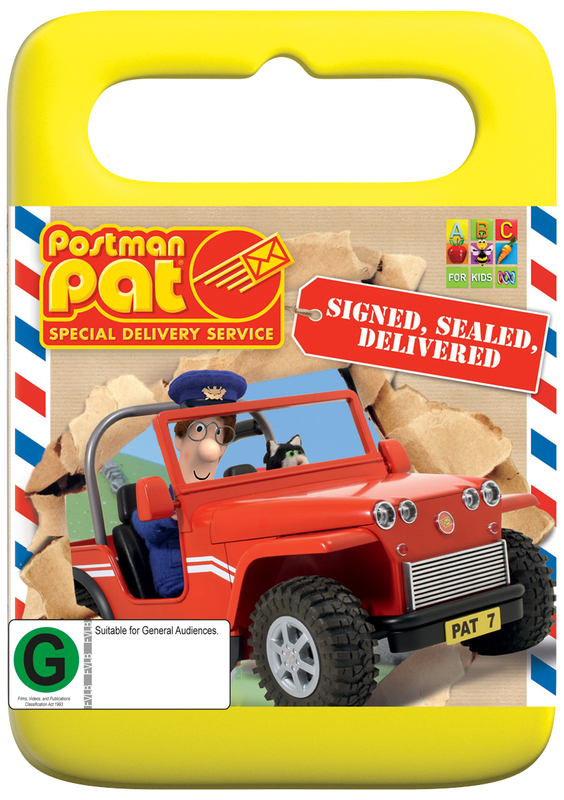 Postman Pat Special Delivery Service Signed Sealed Delivered on DVD & Postman Pat Special Delivery Service: Signed Sealed Delivered ...