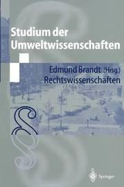 Studium Der Umweltwissenschaften: Rechtswissenschaften