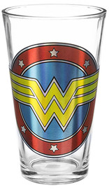 DC Wonder Woman Foil Collector Glass