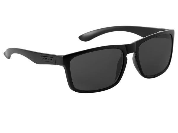 Gunnar Intercept Advanced Computer Eyewear (Raven/Grey Lens) for