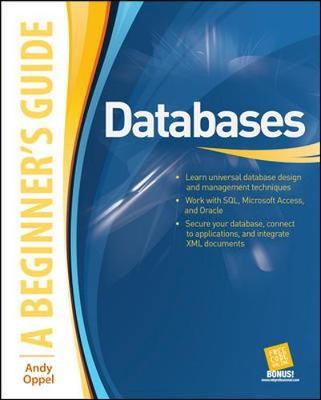 Databases A Beginner's Guide by Andy Oppel image