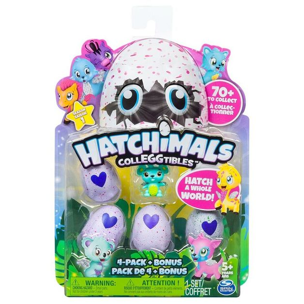 Hatchimals: Colleggtibles - 4 Pack