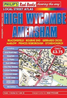 Philip's Red Books High Wycombe and Amersham image