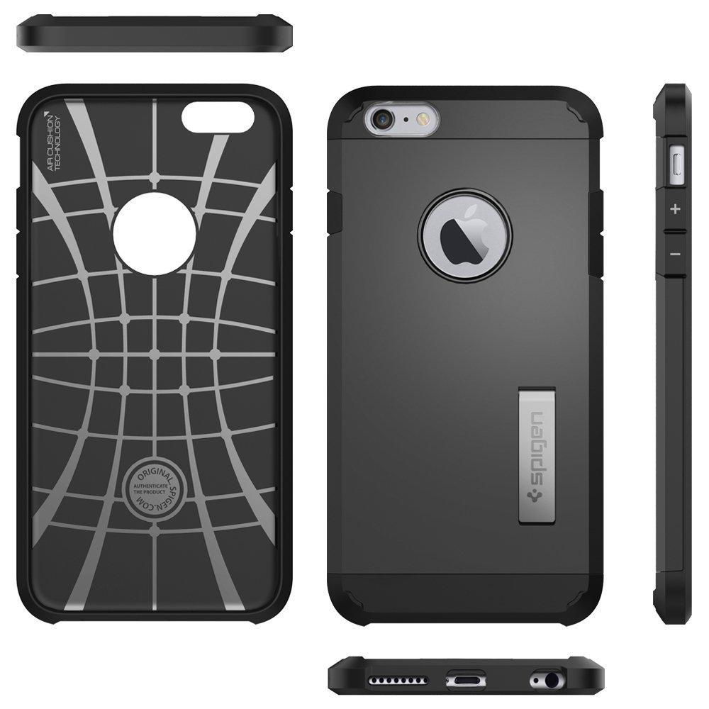 Spigen: iPhone 6s Plus - Tough Armour Case (Black) image
