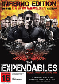 The Expendables - Inferno Edition on DVD