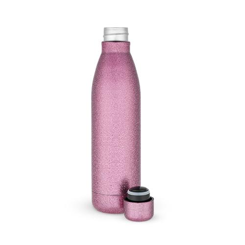 Comet: Pink Glitter Water Bottle