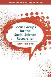 Methods for Social Inquiry by Jennifer Cyr