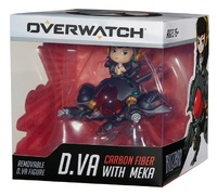 Overwatch: Cute but Deadly - D.Va with Meka Figure (Carbon Edition)